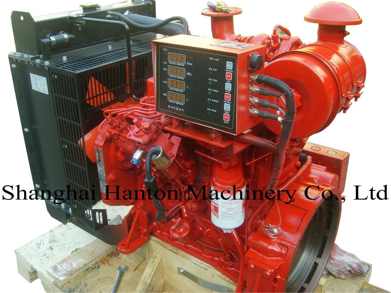 Cummins 4BTA3.9-G diesel engine for inland generator set stationary 1