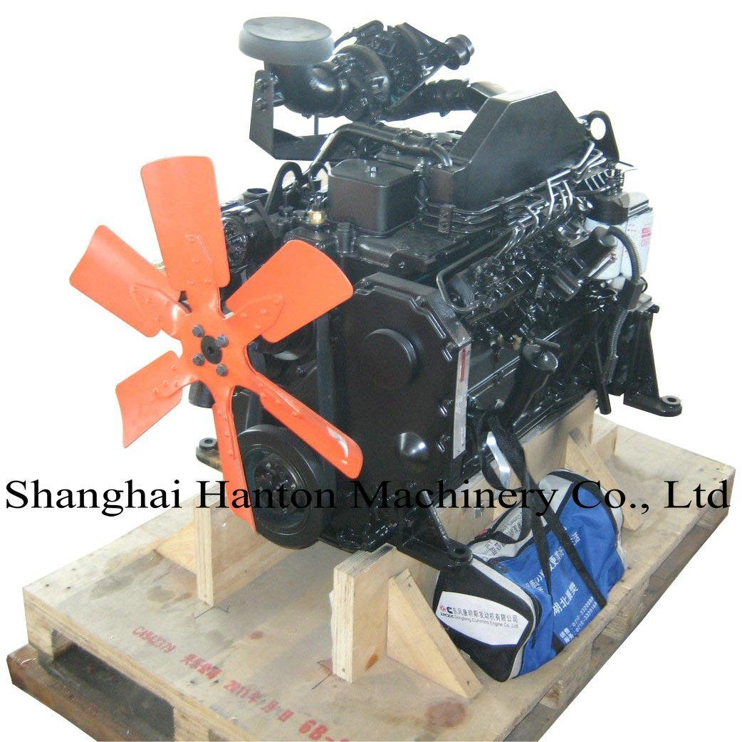 Cummins 6BTA5.9-C diesel engine for truck & construction engineer machinery 1