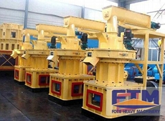 Complete Ring Die Pellet Machine For Wood
