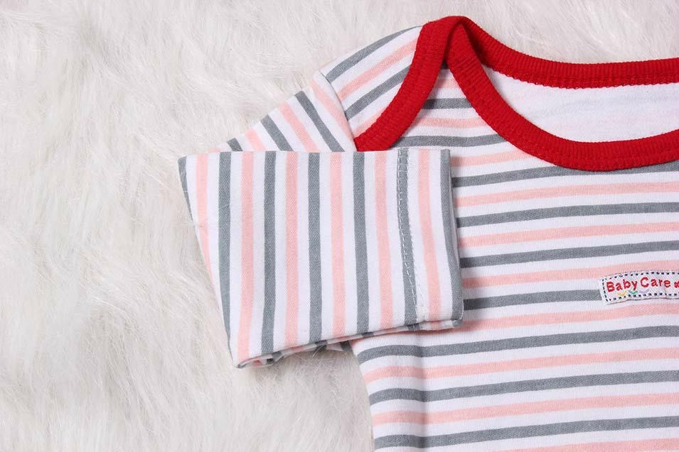 Sweet 100% Cotton Long Sleeve Baby Bodysuit 3