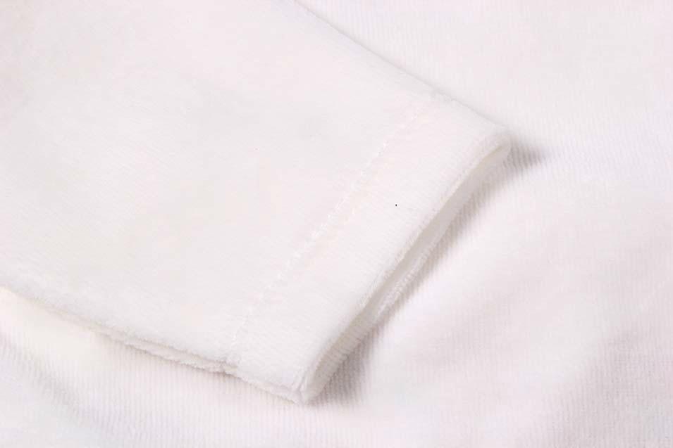 Sweet Ve  et Material Long Sleeve Baby Girl Suit 4