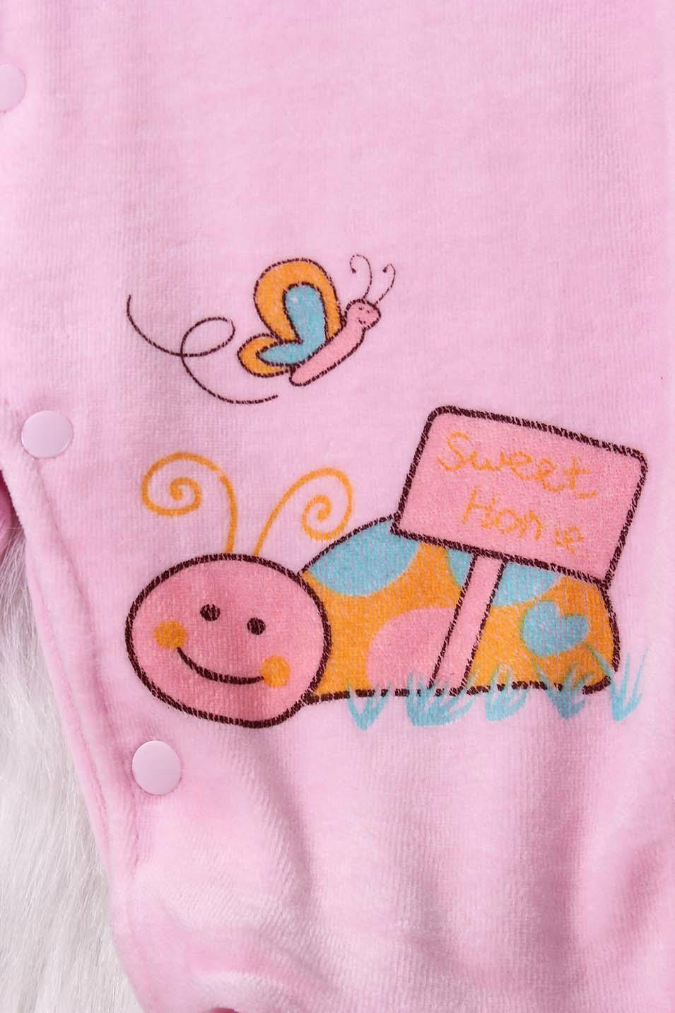 Sweet Newest Lovely Baby Girl Long Sleeve Romper 4