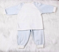 New Born Baby Spliced Cotton Pajamas 2pc 5