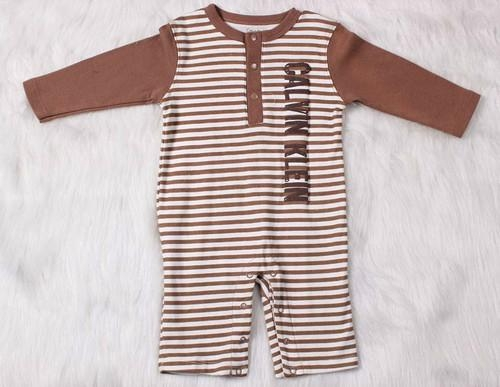 Warm Baby boy cotton romper casual spring and autumn jumper cotton one piece 1