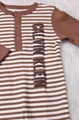 Warm Baby boy cotton romper casual spring and autumn jumper cotton one piece 5