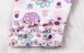 Sweet Baby girl cotton clothing set  flower spring and autumn clothing  set ve   4