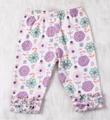 Sweet Baby girl cotton clothing set  flower spring and autumn clothing  set ve