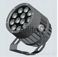 Round  outdoor LED spotlight 4 degree
