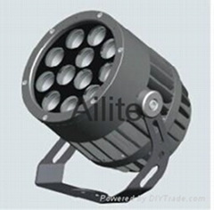 Round  outdoor LED spotlight 4 degree beam