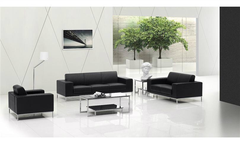 Modern office lobby sofa furniture for reception area cf for Modern lounge sofa