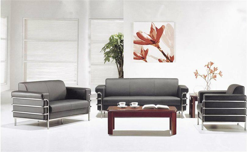 Modern office lobby sofa furniture for reception area cf for Modern office area