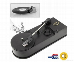 Speed 33&45RPM USB Turntable Record Player records vinyl turntable to MP3