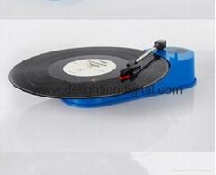 33RPM USB Turntable Record Player Records Vinyl Tape audio into MP3 WAV CD