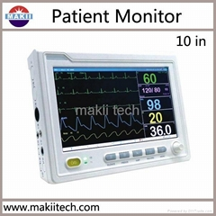 Multi Parameter Patient Monitor Portable