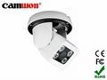 3-Axis Vandalproof IR Dome Camera