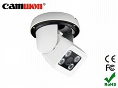 3-Axis Vandalproof IR Dome Camera