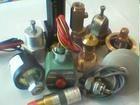 原裝壽力空壓機電磁閥