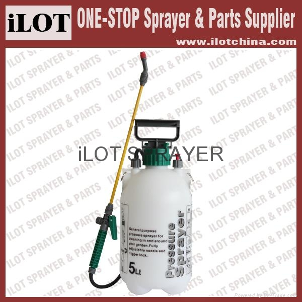 ilot 5L garden manual pressure sprayer 1