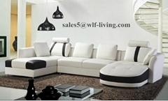 Fashion Design Living Room Leather Sofa Couch Sofa bed