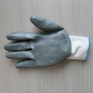 工厂供应21支纱乳胶起皱手套 2