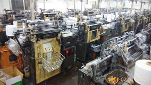 工厂供应21支纱乳胶起皱手套 3