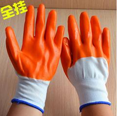 PVC黄胶挂胶手套浸胶防护