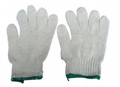 棉纱线工作手套