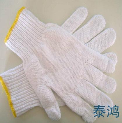 棉紗線工作手套 2