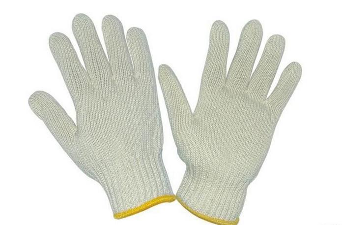 棉紗線工作手套 3