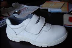 高中低帮耐油透气钢头劳保鞋