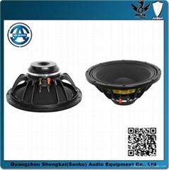 professional 12'' neo woofer/woofer speaker