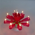 electronic singing happy birthday music candle with Trade Assurance Service