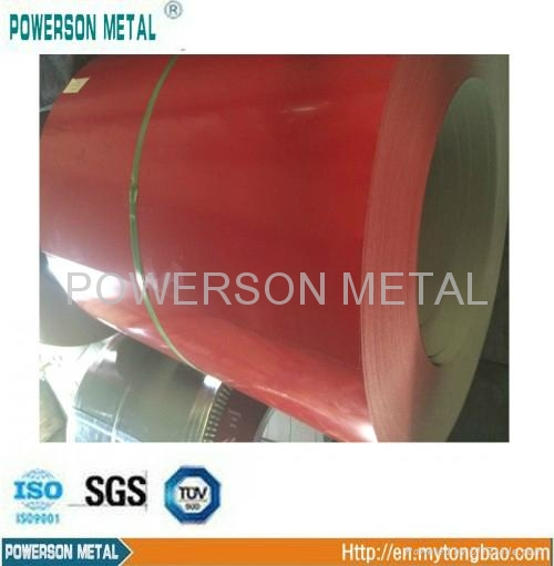 prime pre-painted ga  anized steel coil/PPGI 1