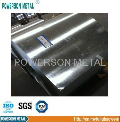 HDG GI Hot dipped ga  anised steel sheet in coil 1