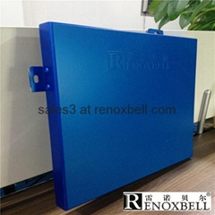 Pearlescent Dark Blue Decoration Aluminum Panel for Cladding
