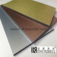 Brushed Series Aluminum Composite Panels for Curtain Wall