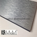 Brushed Series Aluminum Composite Panels for Curtain Wall 5