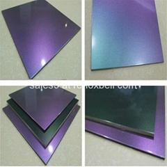 Chameleon PVDF Aluminum Composite Panel For Decoration