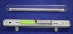 三防灯应急支架含应急电源适用于T8灯管
