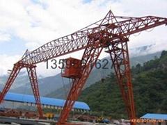 traveling crane trolley electric hoist single double girder crane gantry crane