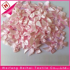6 mm mini satin ribbon bow for bra