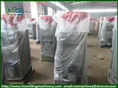High capacity rice husker rice mill machine