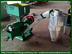 NF series rice milling machinery, crushed rice bran rice mill and rice husker