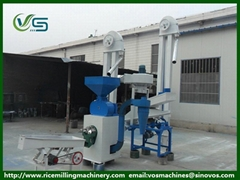 rice husker and rice miller in a whole rice mill machine rice milling machinery