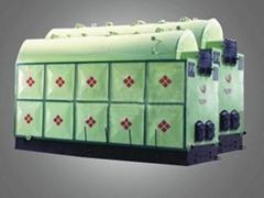 Single drum vertical mobile grate steam boiler