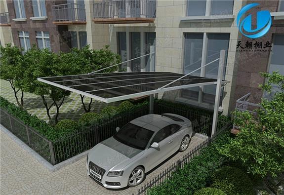 carport with aluminum frame 1