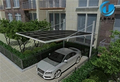 carport with aluminum frame
