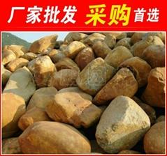 南通椭圆型黄蜡石