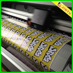 Self adhesive removable pvc sticker paper for promotion