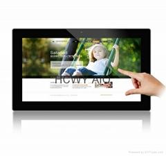 21.5寸全高清全视角网络版液晶触摸广告机